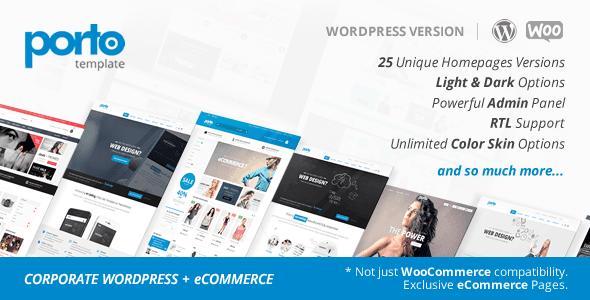 Theme Porto 4.6.2 WordPress + Woocommerce theme full download