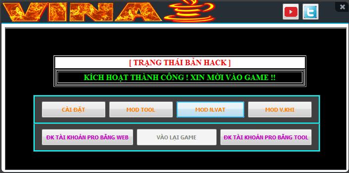 Hack đột kích mới nhất