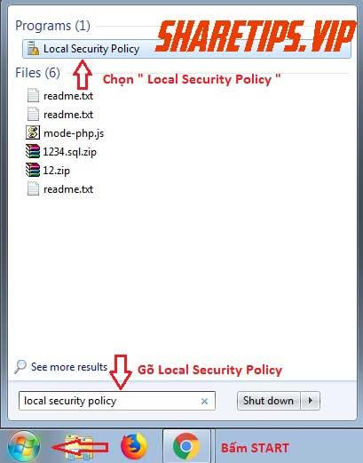 Giới hạn đăng nhập mật khẩu cho WIndows 7, 8, 10