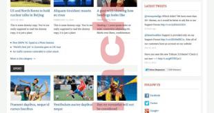 Theme tribune wordpress