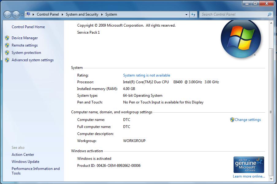 Windows loader v2.2.2 active thành công windows 7 64 bit