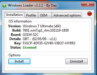 Download windows loader v2.2.2