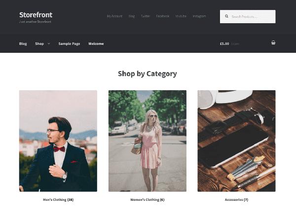 Theme Storefront bán hàng chuyên nghiệp