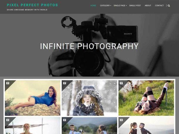 Theme Infinite Photography dành cho du lịch, nhiếp ảnh và thể thao ...