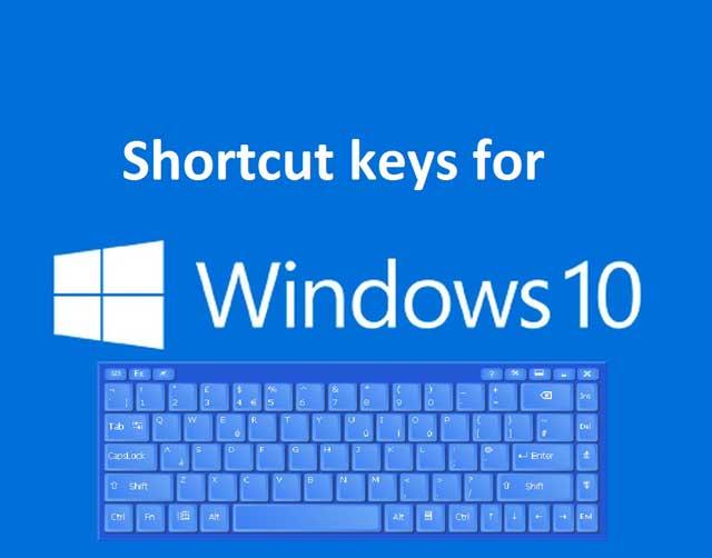 Danh sách phím nóng trên Windows 10