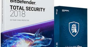 Bitdefender Total Security 2018 Free License key 2018