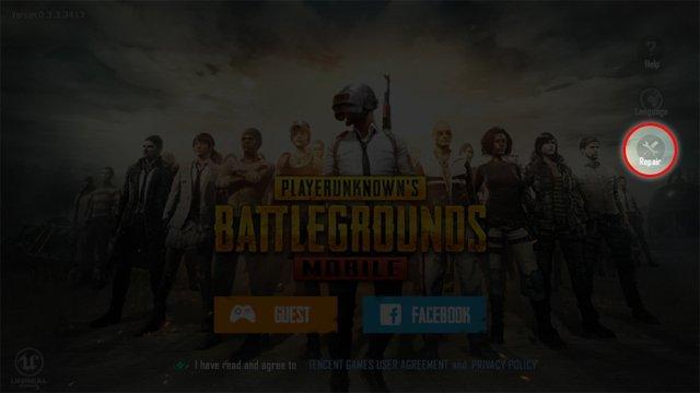 Sửa lỗi Pubg Mobile bị đen màn hình