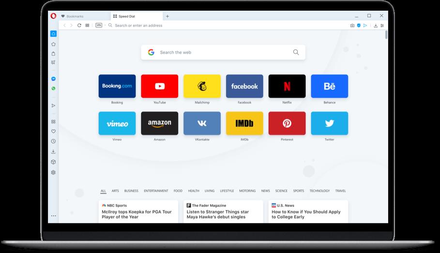 Trình duyệt web Opera